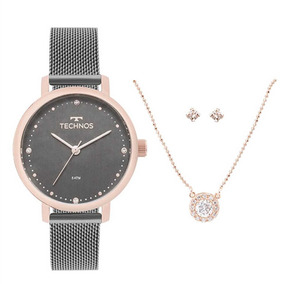 Relógio Technos Elegance Gargantiilha Feminino 2035mmo/k5c