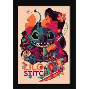 Quadro Lilo E Stitch