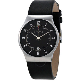72f240e9f517d Relogio Skagen Denmark 233xxlslb Masculino - Relógios De Pulso no ...
