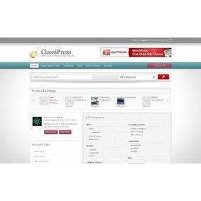 Designer Press Para Classipress - Customize Com Um Clique