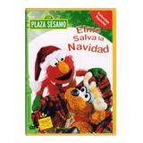 Elmo Salva La Navidad Plaza Sesamo Dvd