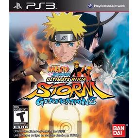 Jogo Naruto Shippuden Ninja Storm Generations Play Ps3 Se