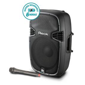 Parlante Portatil 12 Bateria Bluetooth Microfono Proco Reck