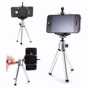 Mini Tripé Universal Celular Câmera Galaxy + Suporte Univers