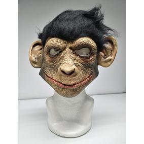 99af3daeeec39 Mascara Chango Smiley Monkey Mono Halloween Latex Disfraz