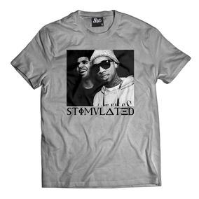 Camisa Camiseta Stimulated Tyga Rap Drake Hip Hop Swag Mcd 9a4a4c1161c