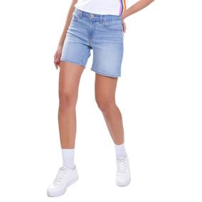 Shorts Jeans Levis Mid Length Update Lavagem Clara