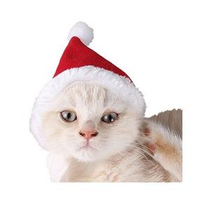 Gato Sombrero De La Navidad Con El Silenciador Perro De Perr 0960cde99f7