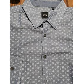 Camisa Hugo Boss Original Xl Slim Fit (no Etro, Zegna)