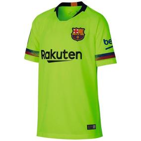 f39b515b4c9d2 Camiseta Verde Barcelona - Camisetas de Clubes Extranjeros Barcelona ...