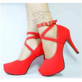 497f4d03f Sapatos para Feminino Vermelho em Croatá no Mercado Livre Brasil