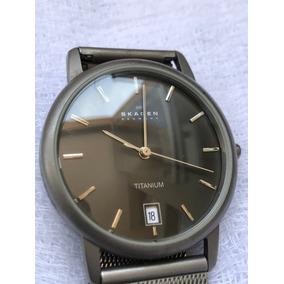 304663ef4ea53 Relogio Skagen Denmark 233xxlslb - Relógios De Pulso, Usado no ...