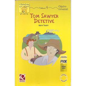 Livro Tom Sawyer Detetive