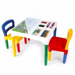 Mesinha Didática Infantil Com 2 Cadeiras - Poliplac