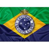 d86cddf774a95 16 vendidos - Minas Gerais. Bandeira Cruzeiro Brasil Triplece Coroa 1x1