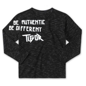 Camiseta Infantil Manga Longa Tigor T Tigre 0bb2f204a0730