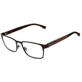 fd3857ae7b91f Hugo Boss 0986 - Óculos De Grau Yz4 18 Marrom Fosco