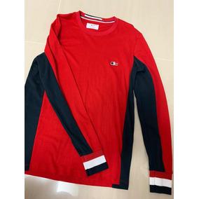Camiseta Manga Longa Lacoste - Calçados, Roupas e Bolsas no Mercado ... 98a0ce3e6d