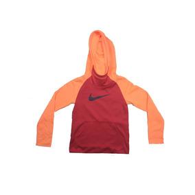 Sudadera Nike Rojo Con Naranja