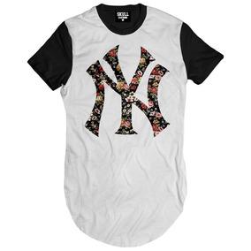Camisa Florida New York Floral Camiseta Masculina Oversized a775be15b8d