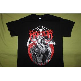 Gusanobass Playera Rock Metal Marduk Talla Med