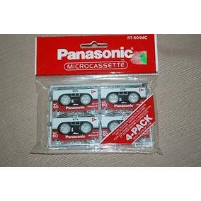Fitas Microcassette Panasonic Rt-604mc C/4 Original Lacrada