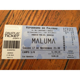 Entradas Para Maluma 17 De Nov Hipódromo Palermo