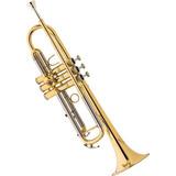Trompete Em Sib Laqueado Eagle Tr504