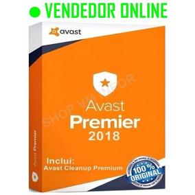 Avast Premier Antivírus Premium Licença 12 Anos + Cleanup