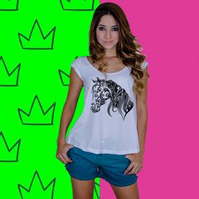 125565d880af1 Camisas Da Ekwos Cavalo Tamanho P - Camisetas e Blusas para Feminino ...