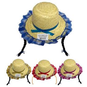 Kit 20 Chapeu Feminino Trança Para Festa Junina - Promoção 72f44f1c512