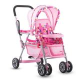 Carreola De Lujo Color Rosa Para Muñecas De Niña Marca Joovy