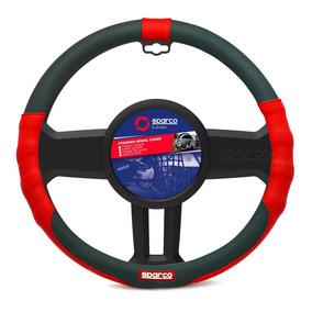 Cubre Volante Negro - Rojo Pvc Sparco Spc1103rs