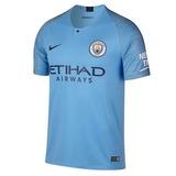 Camisa Manchester City Uniforme 1 - 2018/19 - Frete Grátis