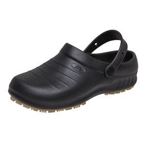 Sapato Casual De Borracha Preto Unissex Marluvas Garantia