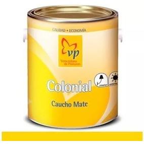 Pintura Colonial Caucho Mate Blanco Intenso