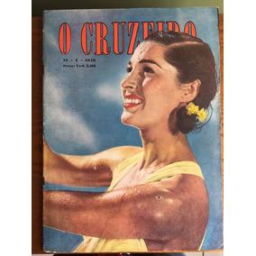 Revista O Cruzeiro - Ano 1949 (camem Miranda, Copacabana)