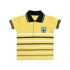 Camiseta Polo Amarela Tigor T.tigre Baby 10204110 0be2493c7d090