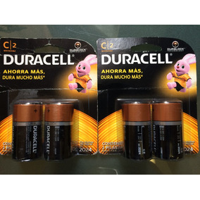 Baterias Duracell Tipo C
