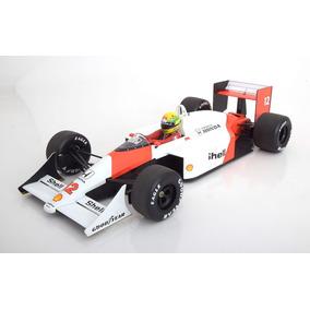 Ayrton Senna Mclaren Mp4/4 1988 1/12 Lacrada Ler Anúncio.