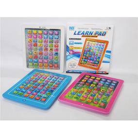 Tablet De Juguete Didáctica P/ Aprender Inglés 3 Colores Dis
