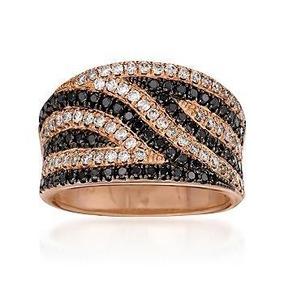28fb197a3eed5 Luca Jóias!!! Anel Cobra Em Ouro Branco 18k Com Diamantes ...