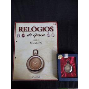 Coleção Relógios De Época - Número 44 - Compacto - Salvat