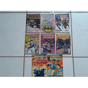 Liga Da Justica E Batman Formatinho ( Lote 08 Gibis )