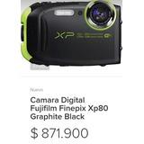 Camara Fujifilms Xp80