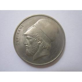Grécia Moeda 20 Apaxmai 1976