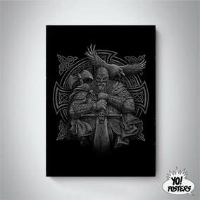 Placa Decorativa Vikings Placas Decorativas No Mercado Livre Brasil