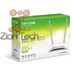 Roteador Wireless Wifi Tp-link Tl-wr840n 300mpbs Anatel 12x