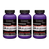 3x Creatine 300g Monohydrate Ultimate Nutrition