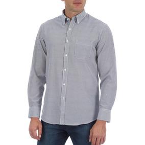 96bccc5b6de1a Camisa Social Colombo Masculina Preta Listrada